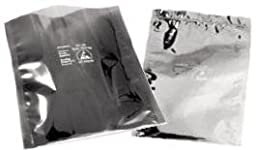 Anti-Static Control Products 4X4 METAL OUT ZIP TOP RECLOSABLE