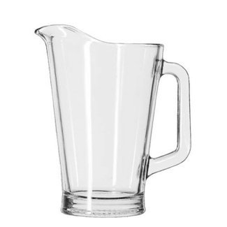 Libbey / Crisa 60 Ounce Capacity Clear Glass Pitcher