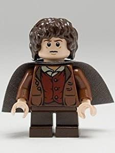 LEGO The Lord of the Rings: Frodo Baggins Minifigure with Grey Cape