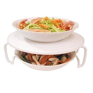 New Environmental Microwave Oven Heating Layered Plate Microwave Oven Dish Rack Dish Holder Dish Tray Bakeware