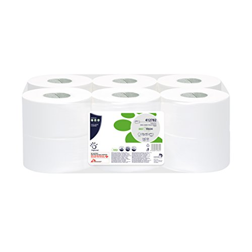 papernet-412782-biotech-mini-jumbo-toilet-tissue-pure-cellulose-2-ply-white-pack-of-12