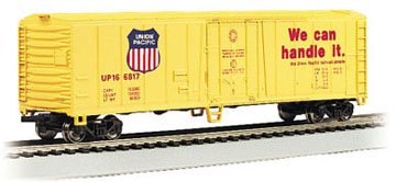 Bachmann Trains Union Pacific 50' Steel Refrigerated Car-Ho Scale