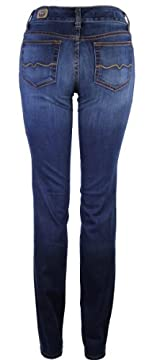 Red Engine Cinder Skinny Straight Jean, Blue Star