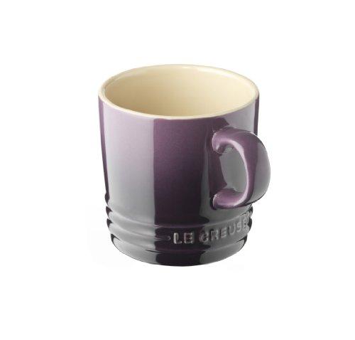Le Creuset Stoneware Petite Espresso Mug, 3.5-Ounce, Cassis