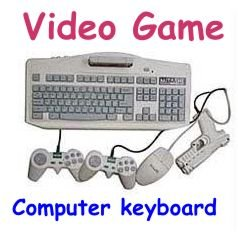 Aditya info Imported Educational Computer TV Game With Mouse