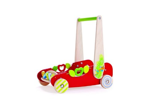 Hape Eco Push and Walk Activity Wagon - 1
