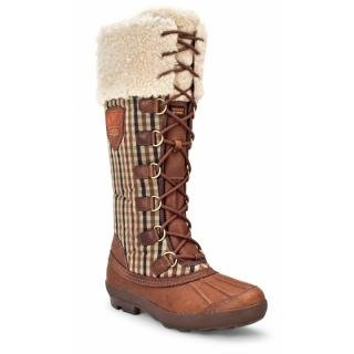 UGG Women's Edmonton Boots - Chocolate Plaid