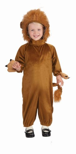 Cozy Fleece Lion Costume