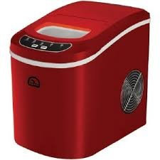 Igloo ICE102-RED Compact Ice Maker (Red)