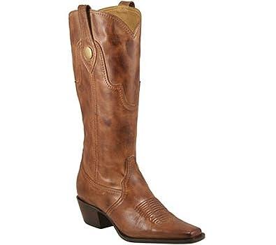 Creative Amazoncom Lucchese Classics Women39s M5711 BootAutumn Dry Leaf10 B