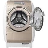 日立 10.0kg ドラム式洗濯乾燥機【右開き】 シャンパンHITACHI ヒートリサイクル 風アイロン ビッグドラム BD-V9400R-N