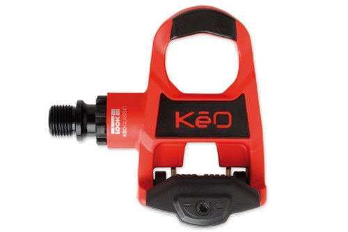 Look Keo Classic Pedal Cromo Axle with Keo Cleat - Red/Black, 140g