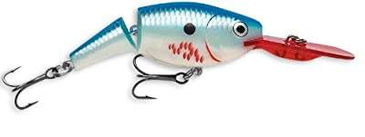 Rapala Jointed Shad Rap 07 Fishing Lure 275-inch Bleeding Blue Shad by Rapala
