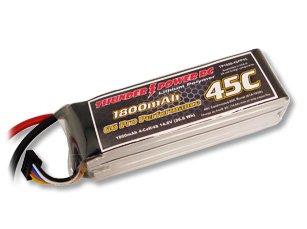 1800mAh 4S 14.8V G6 Pro Performance 45C LiPo