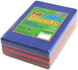 American Classics Foam Sheets 1.5mm 4'X6' 30/Pkg Fashion Assortment; 6 Items/Order