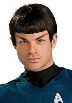 Adult Mens Star Trek Black Spock Halloween Costume