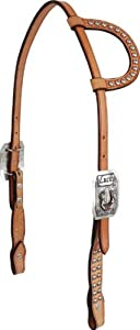 Martin Saddlery Sliding Ear Gypsy Soule Lucky Headstall