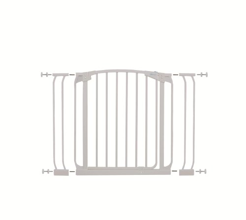 Dream Baby Swing Close Security Gate (with extensions included) - White