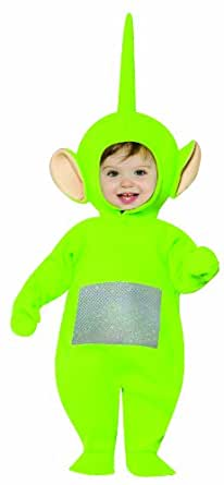 Amazon.com: Rasta Imposta Baby and Toddler Teletubbies Dipsy Costume
