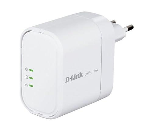 D-Link DHP-310AV MINI Powerline AV Carte Réseau et Adaptateurs Compatible Norme Wifi 802.11b, Compatible Norme Wifi 802.11g Compatible Norme Wifi 802.11n