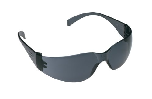3M TEKK 11330 Virtua Anti-Fog Safety Glasses, Gray-Frame, Gray-Lens