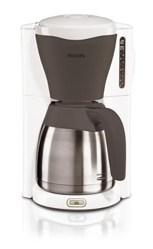 cafetiere philips hd7544 56 cafeti re avec verseuse isotherme viva collection blanc. Black Bedroom Furniture Sets. Home Design Ideas