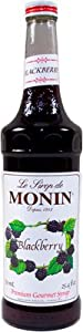 MONIN BLACKBERRY SYRUP, 750 ML Bottle