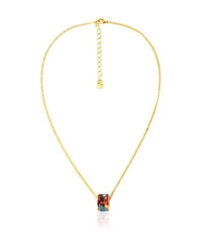 Renoma Collar Mahault Lacquer  Dorado / Multicolor