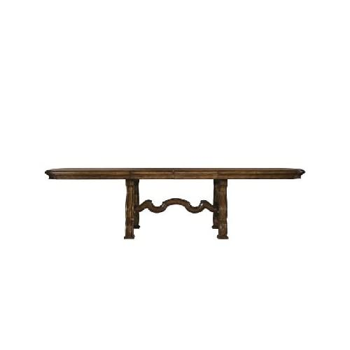 Furniture palazzo trestle table pulaski furniture formal dining tables