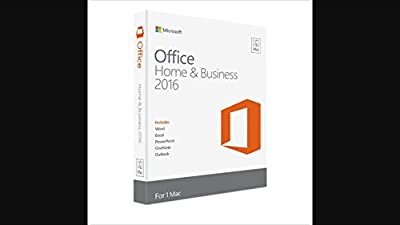Office Home & Business 2016 for Mac