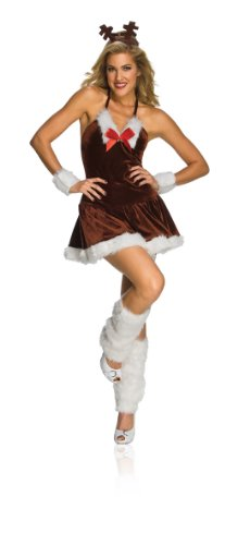Rubie's Costume Women's Festive Reindeer Dress