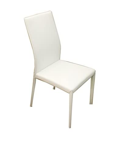Casabianca Furniture Heritage Dining Chair, White