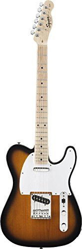 Fender Squier® Affinity Telecaster® Electric Guitar, 2 Tone Sunburst
