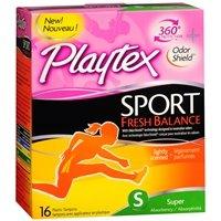 Playtex Sport Fresh Balance Tampons