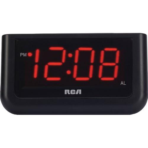 RCA Digital Alarm Clock with Large 1.4