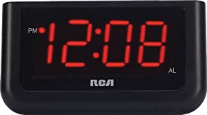RCA RCD30 High Quality Radio with Alarm Clock and 1.4-Inch LCD