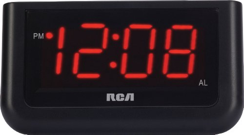 RCA Digital Alarm Clock with Large 1.4″ Display