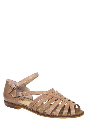 Latigo Moshi Strappy Ankle Strap Flat Sandal