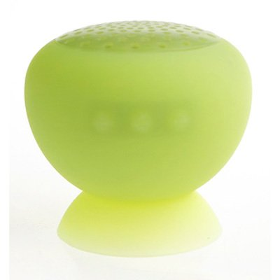 T-Bird Waterproof Bluetooth Speaker Hands Free, Hi-Fi Full Rangs Speaker For Ipad,Iphone, Smart Phone, Tablet (Green)