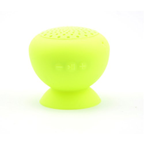 Granvela Miniq Portable Bluetooth Speaker - Great Sound, Water Resistant With Built-In Microphone (Yellow)
