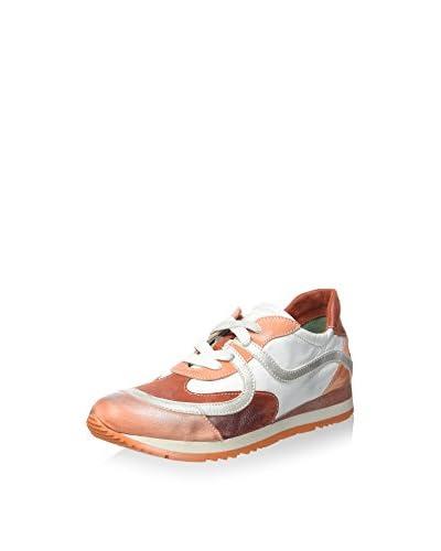 Luciano Barachini Sneaker 19960-2Sk [Bianco/Pesca/Granato]