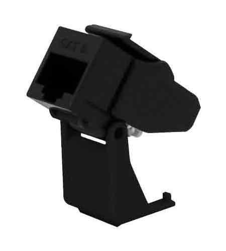 Onq / Legrand Wp3560Bk Snap & Go Cat 6 Keystone Connector, Black