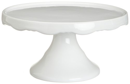 Rosanna Medium 10-1/2-Inch Pedestal, White