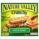 Nature Valley Crunchy Granola Bars Oats & Honey 5 X 42G