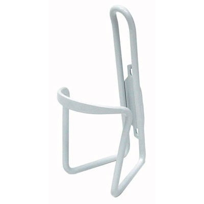 Sunlite Alloy Bicycle Water Bottle Cage, Bulk, White
