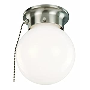 Ceiling Light Fixtures With Pull Chain Simple Home