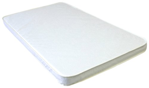 "LA Baby 2"" Compact Crib Mattress, White"