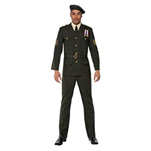 Army Soldier Costume for Men