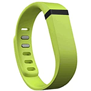 Replacement Wrist Band for Fitbit Flex (Lime/Green, Large)