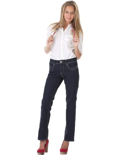 Jeans Tracy Blue/Black Paddock's W44 L34 Damen